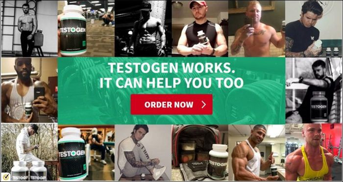 TestoGen Bodybuilding Supplement - Trusted by Thousands